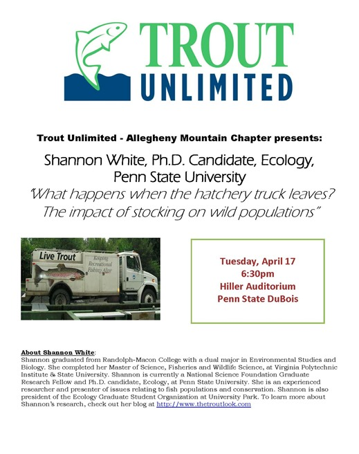 Trout Unlimited Shannon White Event